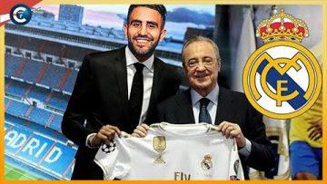 Le REAL MADRID fonce sur Mahrez Bonne recrue pour Zidane