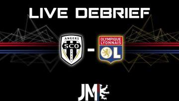 ANGERS 3-0 OL (live debrief) UN MATCH DE MER..
